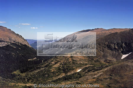 rocky mountain national park wilderness natural history nature misc. tundra np colorado tree-line tree line treeline great continental divide alpine usa united states america american