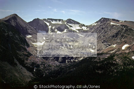 rocky mountain national park colorado. wilderness natural history nature misc. tundra np colorado tree-line tree line treeline great continental divide alpine usa united states america american