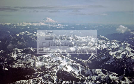flying foothills mt rainier adams distance. volcanic volcanoes geology geological science misc. shield volcano cascades vulcanism eruption washington state mount usa united states america american