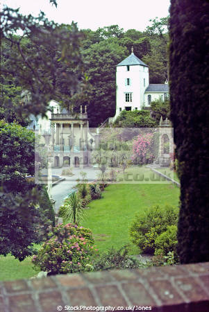 village gardens portmeirion wales portmerion british architecture architectural buildings uk italianate clough williams-ellis williams ellis williamsellis ornamental prisoner number gwynedd welsh país gales great britain united kingdom