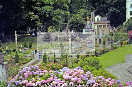 gardens portmeirion wales portmerion british architecture architectural buildings uk italianate clough williams-ellis williams ellis williamsellis ornamental village prisoner number gwynedd welsh país gales great britain united kingdom