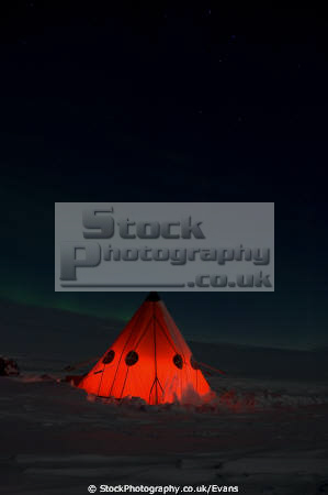 aurora austalis polar explorer camp antarctica natural history nature misc. southern lights wonder world antarctic night camping united kingdom british