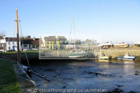kinvarra county galway irish towns european travel harbour harbor boats fishing west coast ireland gaillimh republic eire irland irlanda europe