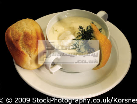 bergen fish soup food nourishment nutrients abstracts misc. fjord norway kongeriket norge europe european norwegan