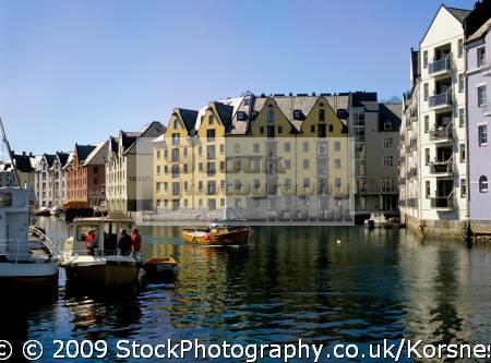 ålesund norway. gateway fjords. travel fjord norway kongeriket norge europe european norwegan