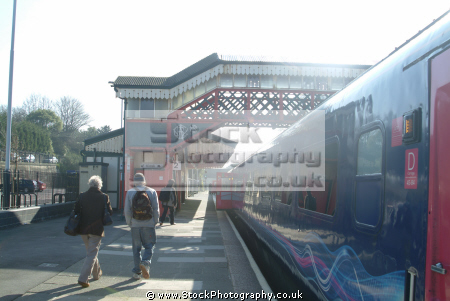 st austell station uk railway stations railways railroads transport transportation cornwall cornish england english great britain united kingdom british