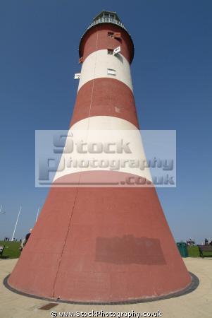 smeaton tower plymouth hoe british lighthouses unusual buildings strange wierd uk devon devonian england english great britain united kingdom