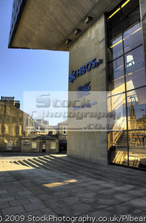 hbos hq building halifax yorkshire banking finance brands branding uk business commerce head office banks financial england english great britain united kingdom british