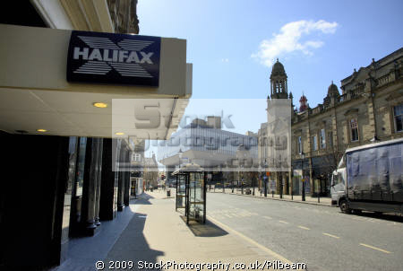 hbos hq halifax distance local branch building society banking finance brands branding uk business commerce head office banks financial yorkshire england english great britain united kingdom british