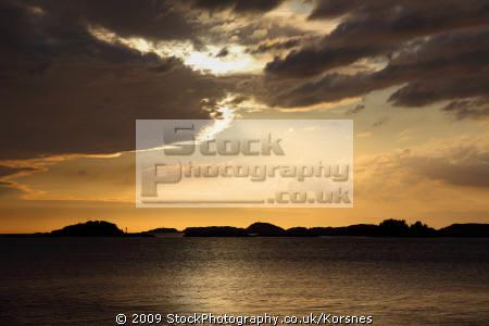 sunset western norway bergen sunsets sky natural history nature misc. fjord kongeriket norge europe european norwegan