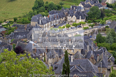 town turenne limousin france chateau. french landscapes european travel correze chateau ancient mediaeval medaeval touristic picturesque castle fortified hilltop la francia frankreich europe