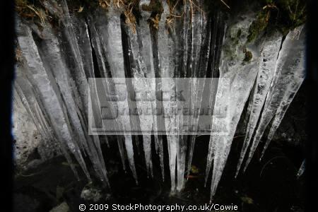 icicles winter seasons seasonal environmental uk frozen argyll bute argyllshire scotland scottish scotch scots escocia schottland great britain united kingdom british grande-bretagne grande bretagne grandebretagne großbritannien gran bretagna bretaña