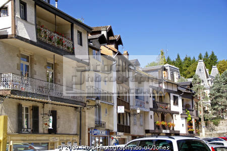 town tulle southern limousin traditional apartments near centre. french buildings european travel correze river valley medieval mediaeval half-timbered half timbered halftimbered france la francia frankreich europe united kingdom british