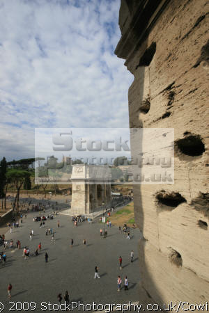 arch constantine pictured colosseum rome lazio italian european travel summer roma roman italy italien italia italie europe united kingdom british