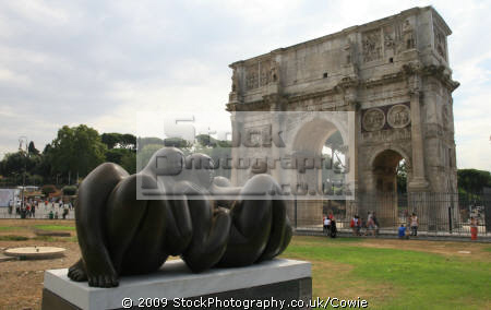 sculpture arch constantine rome lazio italian european travel art summer roma roman italy italien italia italie europe united kingdom british