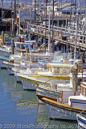 Fishing boats at fisherman 39 s warf san francisco taken for Fishing store san francisco