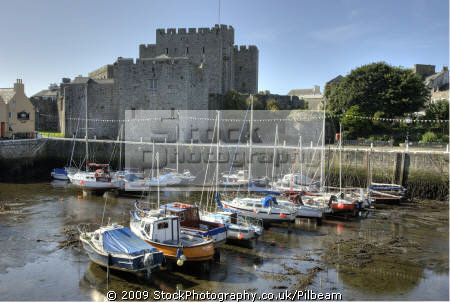 castle rushen castletown harbour isle man historical uk buildings history british architecture architectural manx tourism iom port boats england english angleterre inghilterra inglaterra great britain united kingdom grande-bretagne grande bretagne grandebretagne großbritannien gran bretagna bretaña