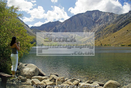 photographer convict lake sierra nevadas wilderness natural history nature misc. california mountains alpine geology mammoth lakes cinder cone pumice volcanic ash inyo national forest united states american