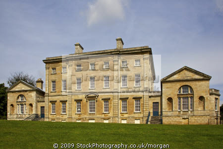 the restored mansion house of cusworth hall at doncaster