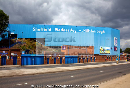 hillsborough football ground sheffield south yorkshire uk venues british architecture architectural buildings stadium sport venue wednesday england english angleterre inghilterra inglaterra great britain united kingdom grande-bretagne grande bretagne grandebretagne großbritannien gran bretagna bretaña
