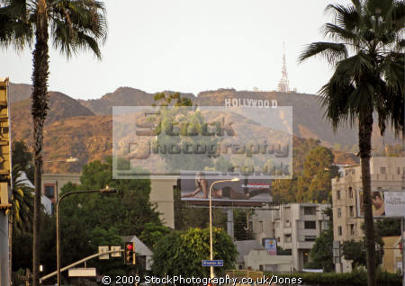 hollywood sign highland mall los angeles. angeles la california american yankee travel shopping restaurants elephants kodak theater theatre californian usa united states america