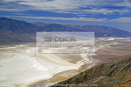 death valley dante view mile floor california american yankee travel state park minerals desert hotest lowest californian usa united states america