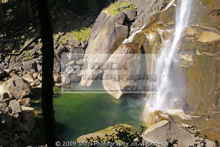yosemite national park base vernal falls mist trail wilderness natural history nature misc. california sierra nevadas river mountains alpine rainbow np californian usa united states america american