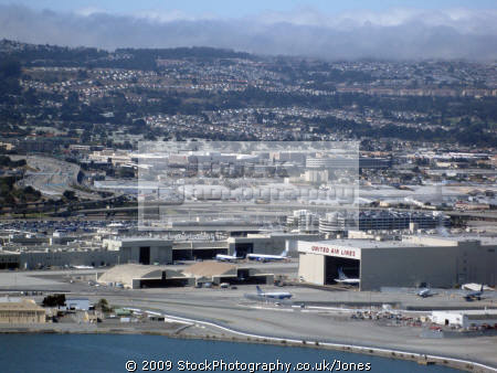 taking san francisco airport looking california american yankee travel sfo terminals take-off take off takeoff flight aircraft flying air californian usa united states america