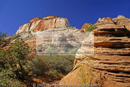 zion national park panorama canyon overlook trail. wilderness natural history nature misc. navajo sandstone geology cliffs exposure np scenic byway highway jurassic utah usa united states america american