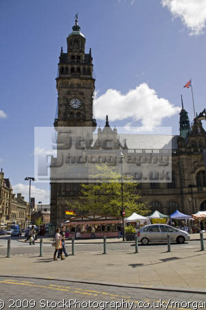town hall european markets sheffield south yorkshire uk halls government buildings british architecture architectural council heritage market building england english angleterre inghilterra inglaterra great britain united kingdom grande-bretagne grande bretagne grandebretagne großbritannien gran bretagna bretaña