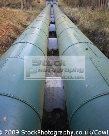 hydro electric pipes energy electrical science misc. alternative green united kingdom british