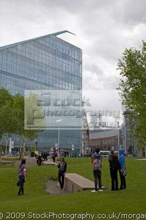 urbis arts centre manchester lancashire british architecture architectural buildings uk city new modern united kingdom