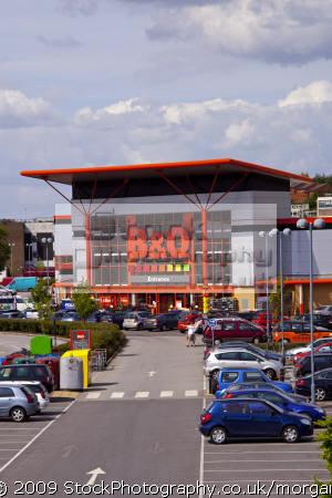 modern b&q superstore sheffield south yorkshire retailers brands branding uk business commerce diy retail chain large branch united kingdom british