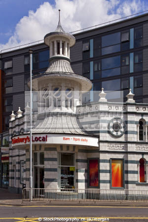 sainsbury local london road sheffield uk shops commercial buildings retailers british architecture architectural nightclub preserved listed building tiffany yorkshire england english angleterre inghilterra inglaterra united kingdom