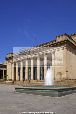 city hall sheffield south yorkshire uk venues british architecture architectural buildings venue music audutorium centre england english angleterre inghilterra inglaterra united kingdom