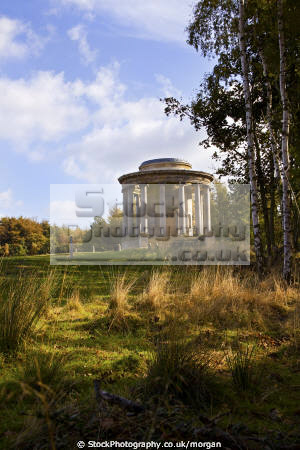 rotunda hunting lodge wentworth castle estate stainborough barnsley south yorkshire historical uk buildings history british architecture architectural heritage parkland england english angleterre inghilterra inglaterra united kingdom