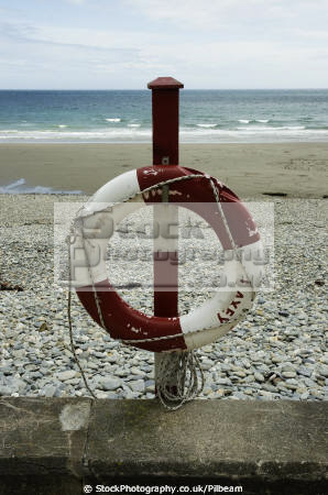 lifebelt beach laxey isle man seascapes scenery scenic manx seaside sand pebbles tourism britain england english angleterre inghilterra inglaterra united kingdom british