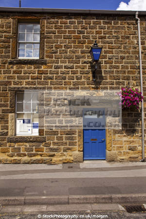 bakewell police station derbyshire cops uk emergency services local rural stone building england english angleterre inghilterra inglaterra united kingdom british