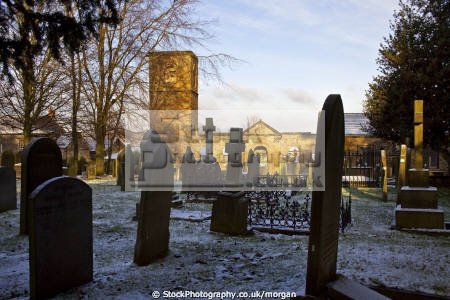 wentworth old church south yorkshire uk churches worship religion christian british architecture architectural buildings snow winter ruins gravestones 13th century england english angleterre inghilterra inglaterra united kingdom