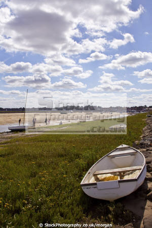 harbour approach wells sea norfolk harbor uk coastline coastal environmental rowing boat sand coast low tide england english angleterre inghilterra inglaterra united kingdom british