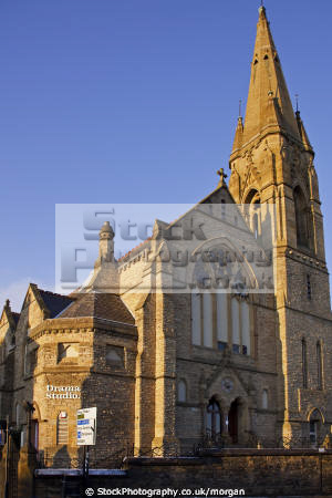 university drama sheffield south yorkshire uk theatres theater theatrical venues british architecture architectural buildings theatre glossop road baptist dramatics amateur england english angleterre inghilterra inglaterra united kingdom