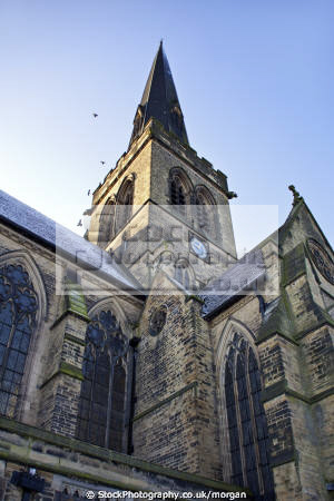 holy trinity parish church wentworth south yorkshire uk churches worship religion christian british architecture architectural buildings village gothic victorian 1877 england english angleterre inghilterra inglaterra united kingdom
