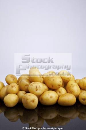 random pile potatoes food nourishment nutrients abstracts fresh cooking vegetables united kingdom british