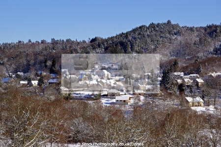 blue skies snow. village chaumeil southern limousin france. french landscapes european corrèze correze snow forest france frozen monedieres monédières winter la francia frankreich