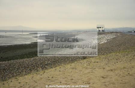 morecambe bay low tide looking lake district uk coastline coastal environmental cockle picking sands seaside lancashire lancs england english angleterre inghilterra inglaterra united kingdom british