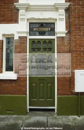 victorian door terraced house southsea portsmouth british architecture architectural buildings wooden stained glass traditional pompey hampshire hamps england english angleterre inghilterra inglaterra united kingdom