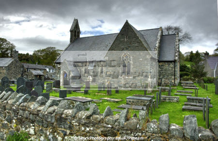 st catherine church llanystumdwy north wales uk churches worship religion christian british architecture architectural buildings lloyd george birthplace village gwynedd welsh país gales united kingdom