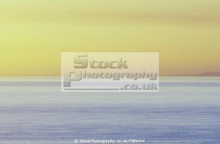 watery sunset irish sea scotland isle man sunsets sky natural history nature dusk evening landscape yellow manx england english angleterre inghilterra inglaterra united kingdom british