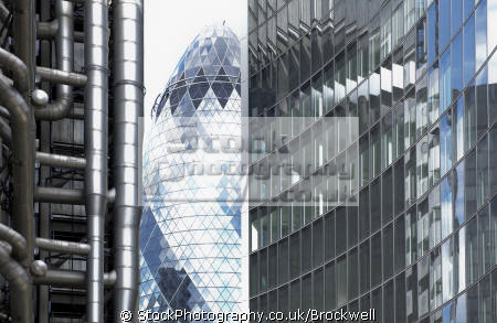 gherkin city london viewed lloyds building business tower district famous sights capital england english finance architecture sky scraper money cockney angleterre inghilterra inglaterra united kingdom british