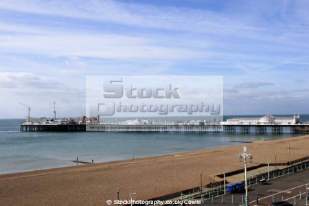 brighton pier. piers uk coastline coastal environmental beach coast sea amusements sussex home counties england english angleterre inghilterra inglaterra united kingdom british